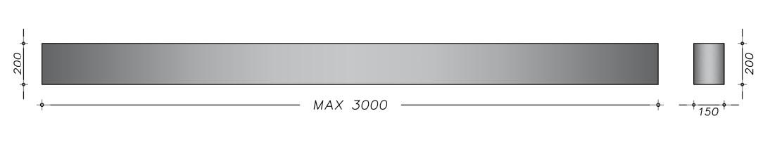 20x15xtilpas - Bærebjælker