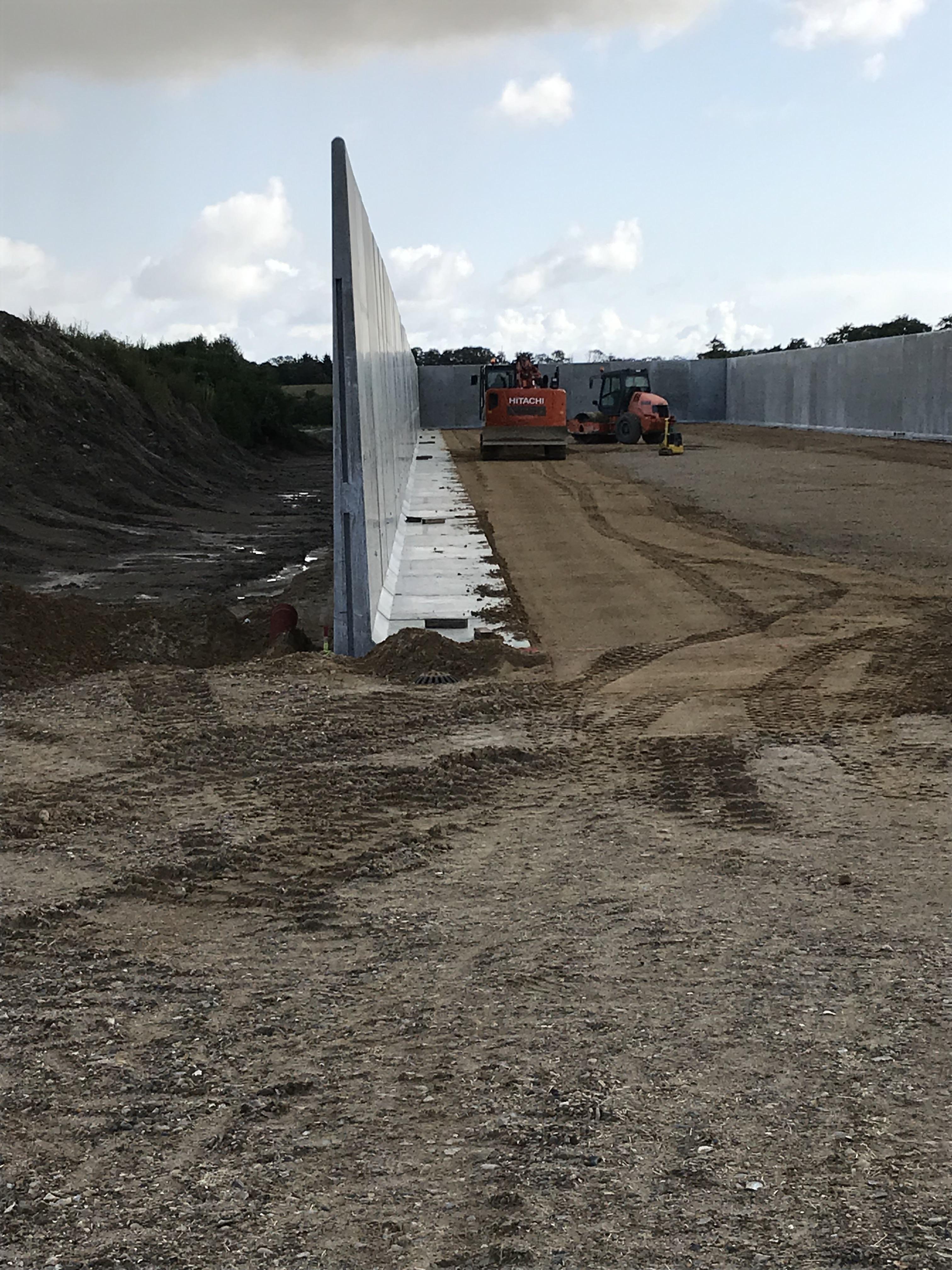 Ensilage silo - L-elementer - Silo elementer - Biogasanlæg