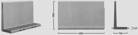 L-150 X 240 - Standard element