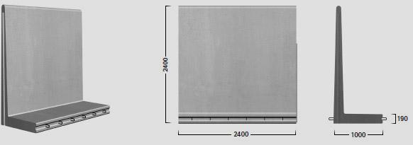 L-240 X 240 - Standard element