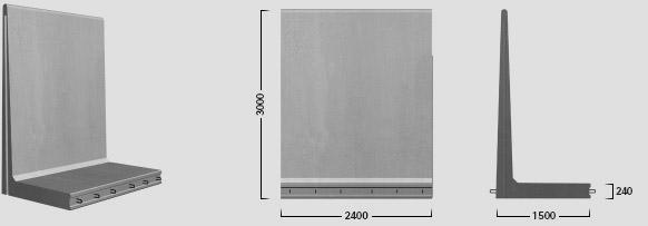 L-300 X 240 - Standard element