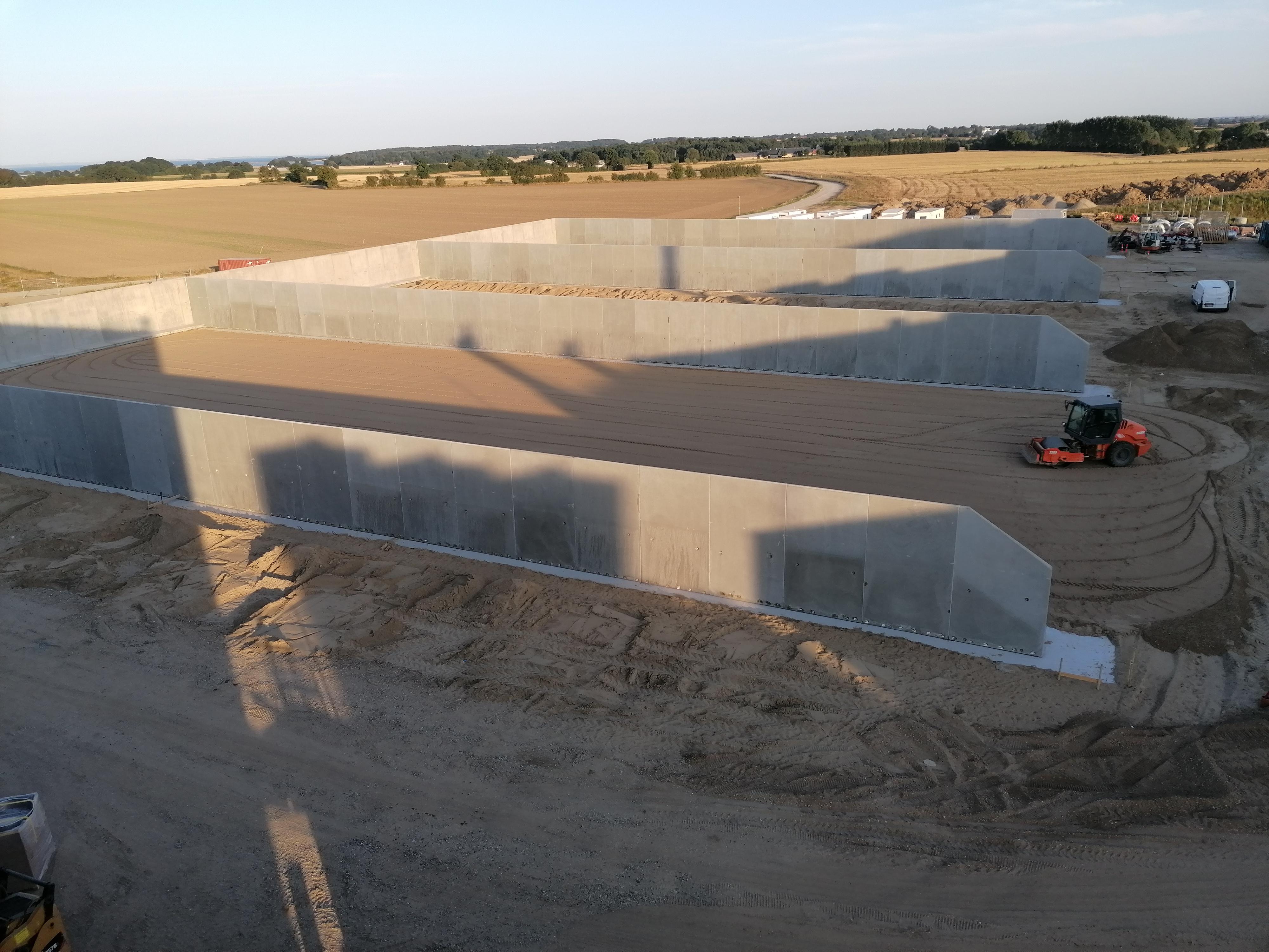 L-elementer - Elementer til biogasanlæg