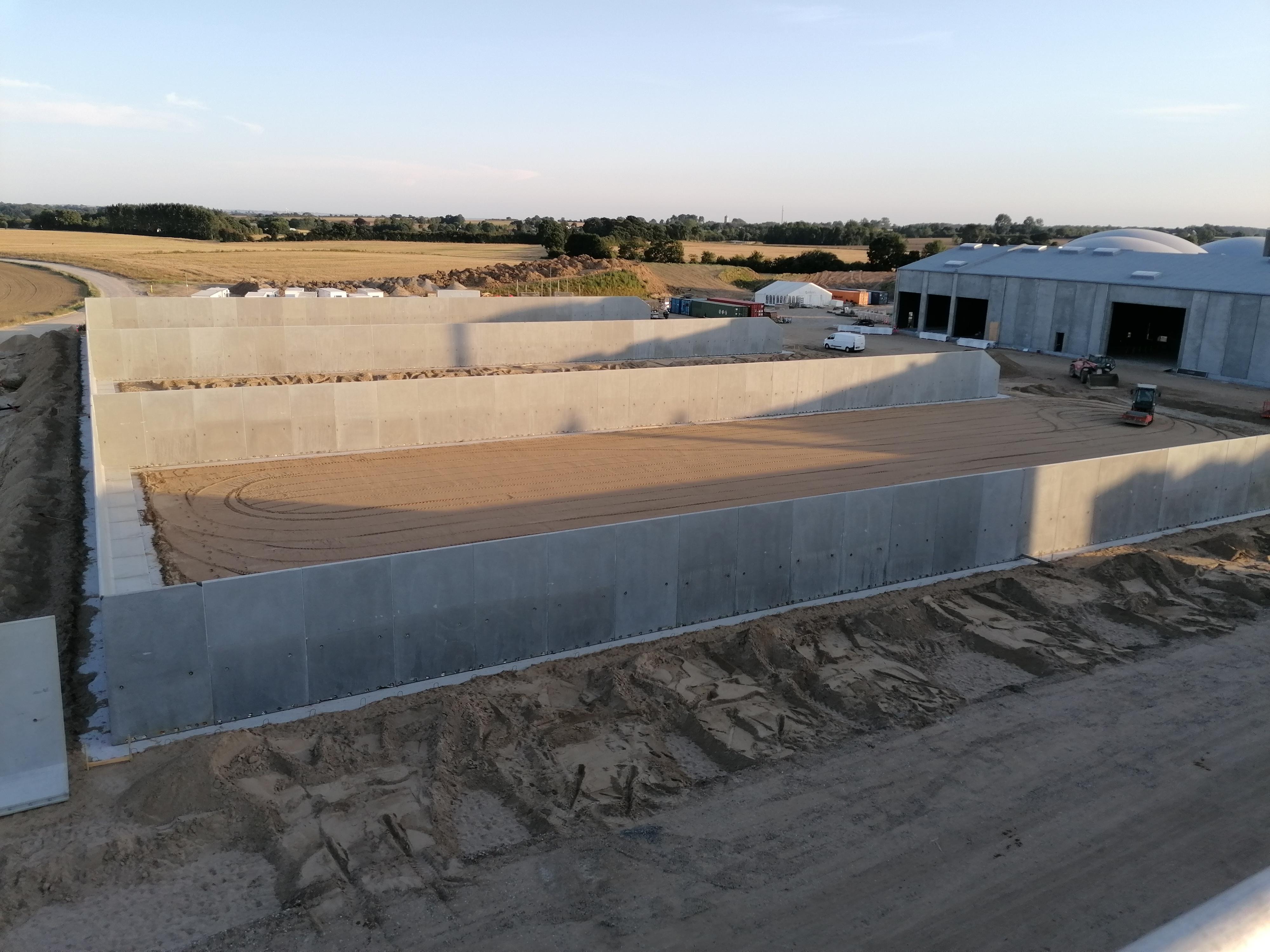 L-elementer Elementer til biogasanlæg