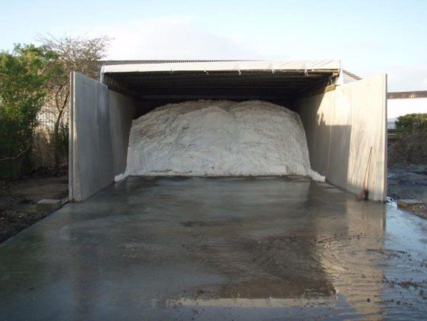 Saltlager Thisted - L-elementer - Opbevaringslager