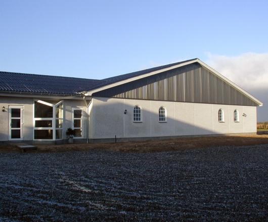Industri Bygning I Norsk Marmor