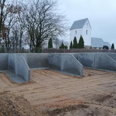 L-elementer - Kirkegård Golfklubber Materiale & Affald