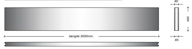 K08045 - 45 cm Kanalelementer