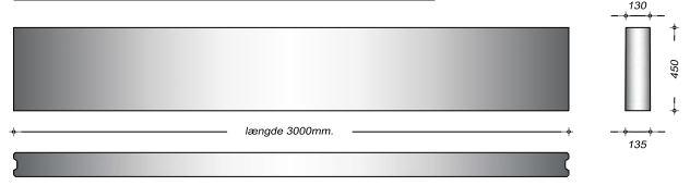 K13045 - 45 cm Kanalelementer