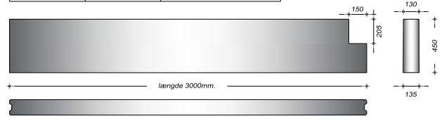K13045 U - 45 cm Kanalelementer