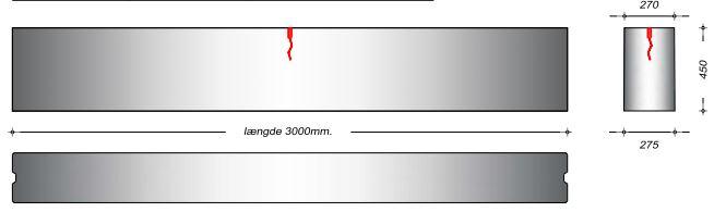 K27045 - 45 cm Kanalelementer