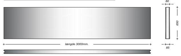 K08065 - 65 cm Kanalelementer
