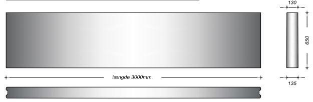 K13065 - 65 cm Kanalelementer